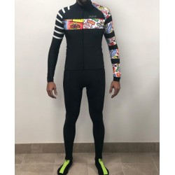 Cycling Maillot FMB Comic Pro Long